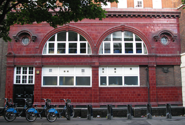 Brompton Road Station