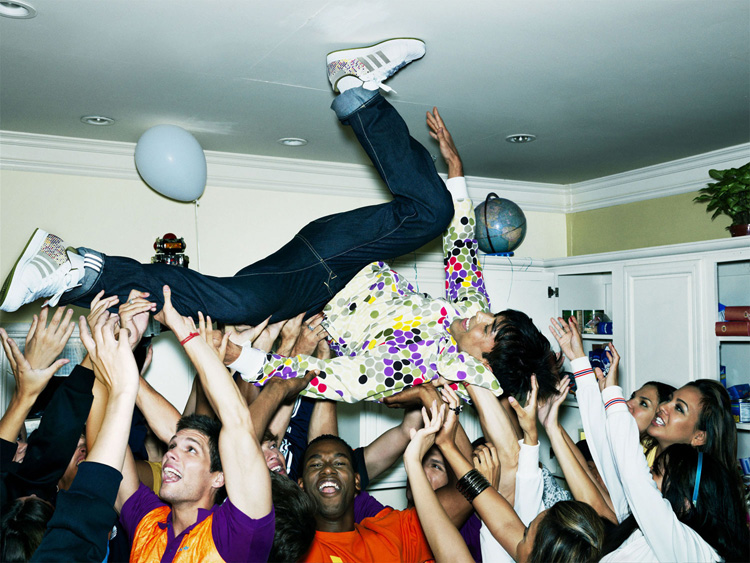 House Party - pic from the adidas original 60 campaign