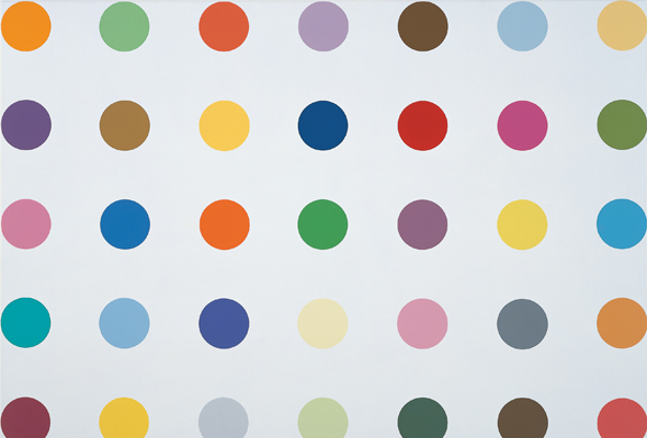 Damien_Hirst Spot Paintings