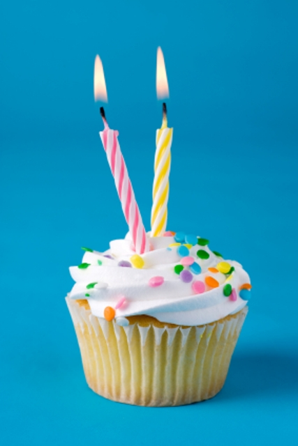 Happy birthday to us – we're 2 years old today!
