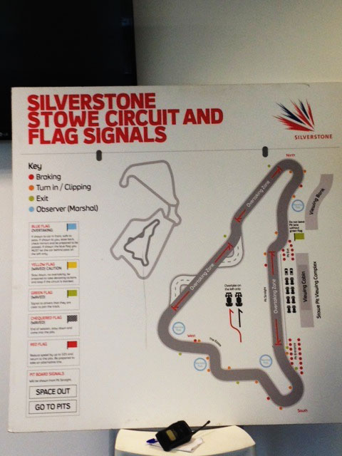 Briefing at Silverstone