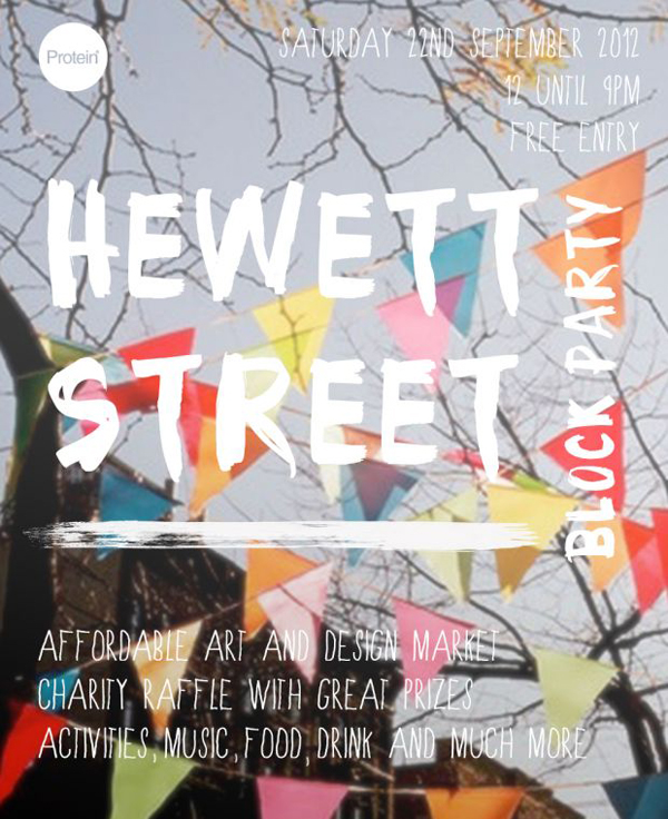Hewett Street Block Party