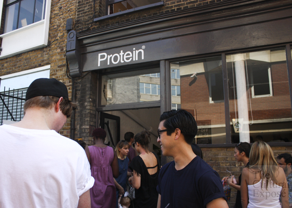 Crowd at Protein