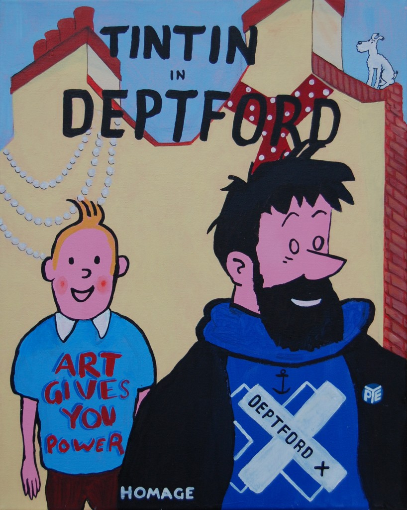 Harry Pye and Friends - TinTin in Deptford