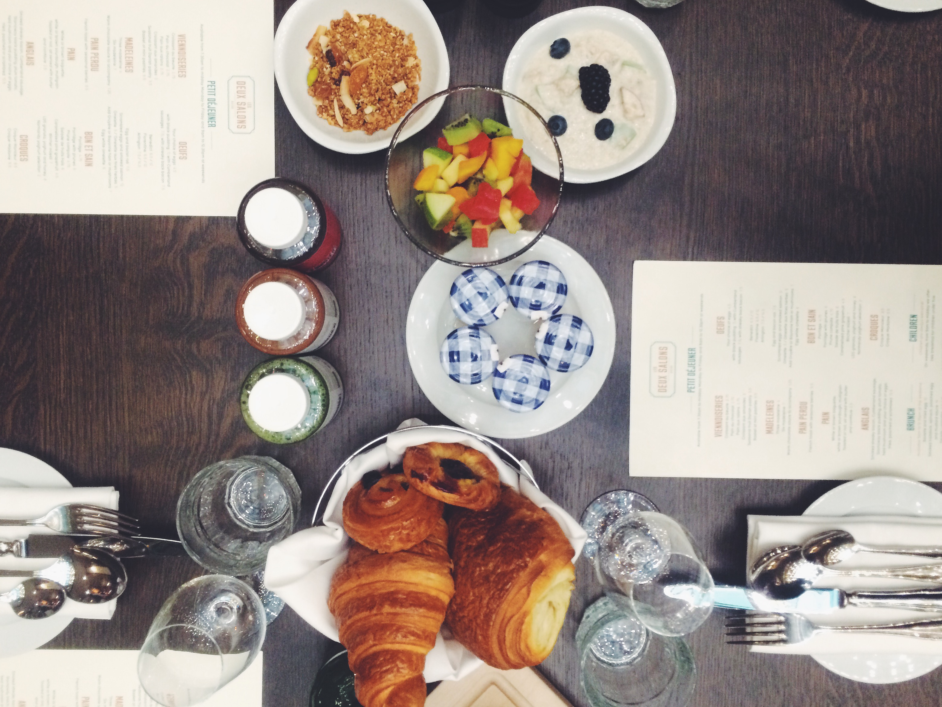 Les Deux Salons launches breakfast menu