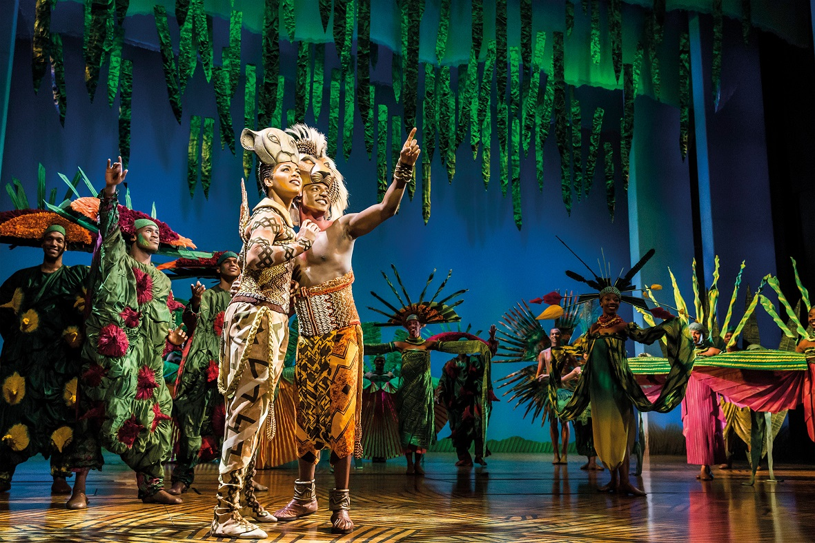 The Lion King musical: a visual jubilee 16 years on