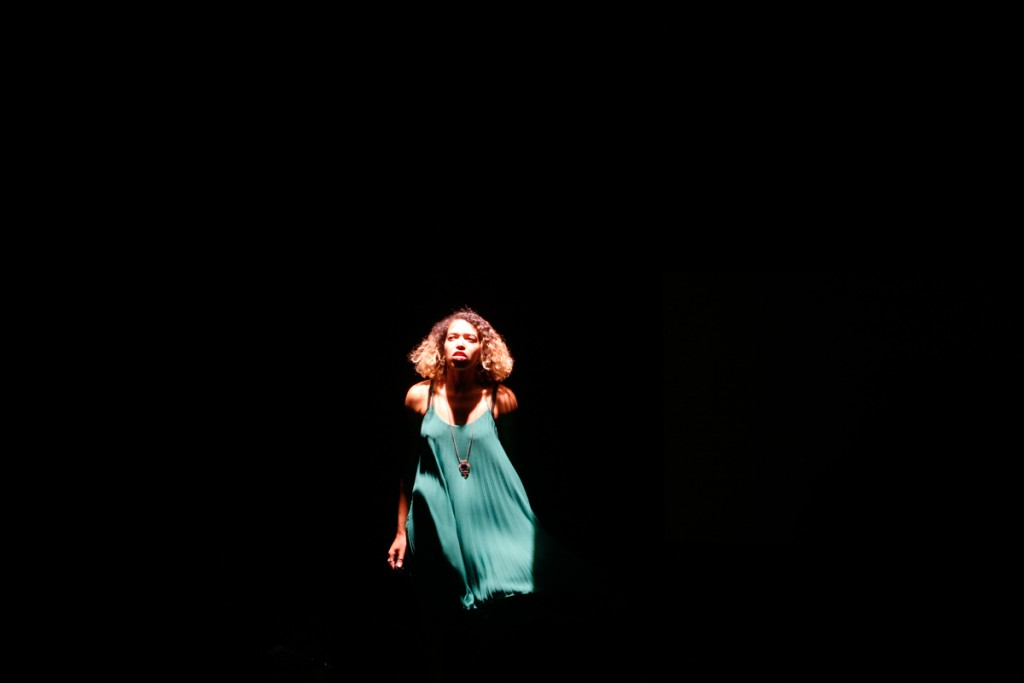 Paula Varjack in Show Me The Money. Opener of the Scratch double bill at Battersea Arts Centre.
