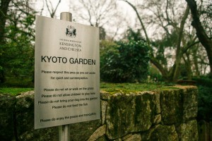 What to do in London - Kyoto Garden Holland Park