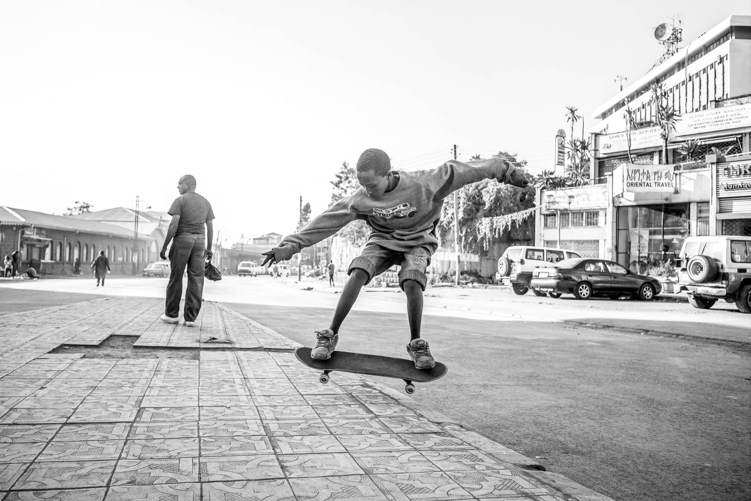 One for the diary: Ethiopia Skate – photography by Daniel Reiter at Rich Mix