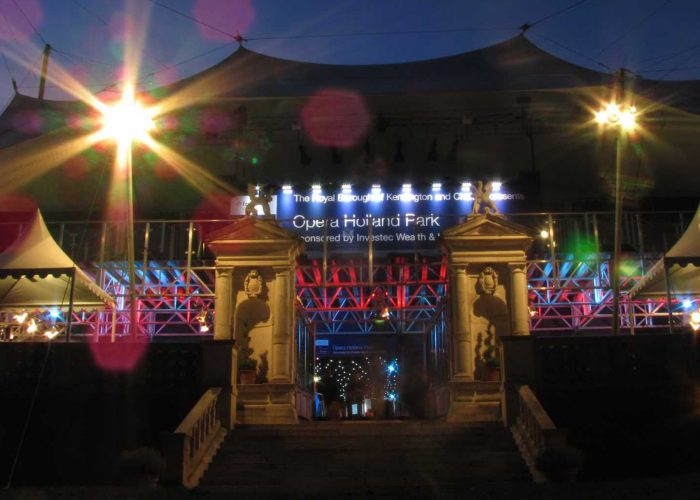 That time I discovered high culture on my doorstep: Investec Opera Holland Park London