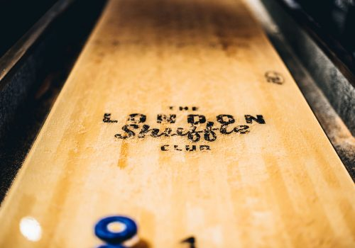 What we've been up to… Shuffleboarding at The Little Shuffle Club