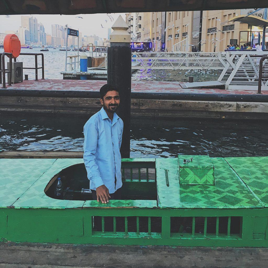 abra boat ride in Dubai