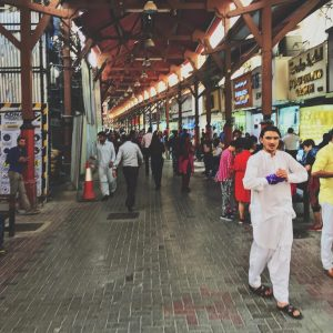 the gold souk in Dubai